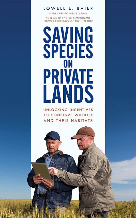Saving Species on Private Lands Book Cover